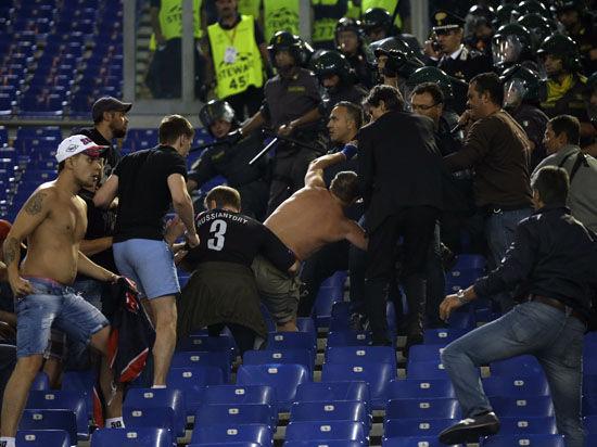 «Рома» - ЦСКА: за что мстили армейские фанаты