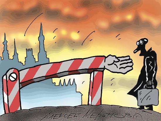 Известие о том, что он «невыездной», застало депутата Госдумы Пономарёва за границей