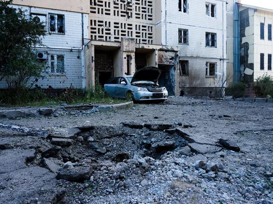 У украинских военных не получается блокировать Донецк