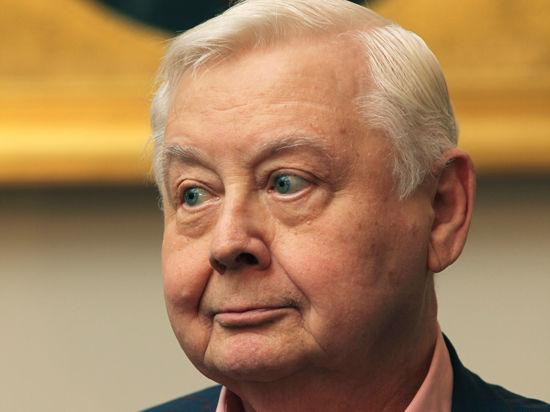 Олег Табаков призвал возрождать культуру собственным примером