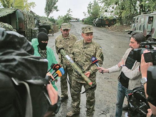 Министр обороны Украины увидел Хиросиму  в Луганске
