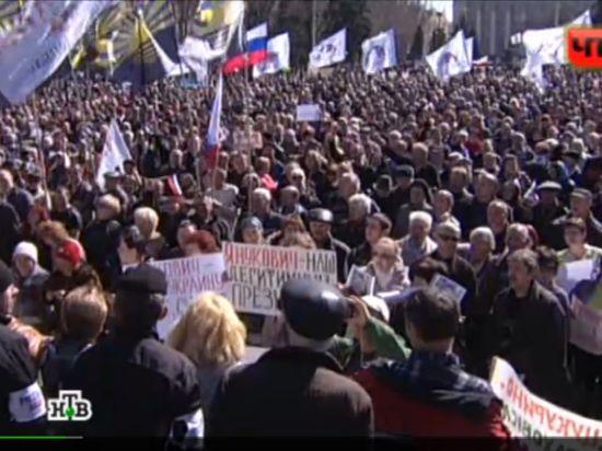 Донбасс пошел по пути Крыма