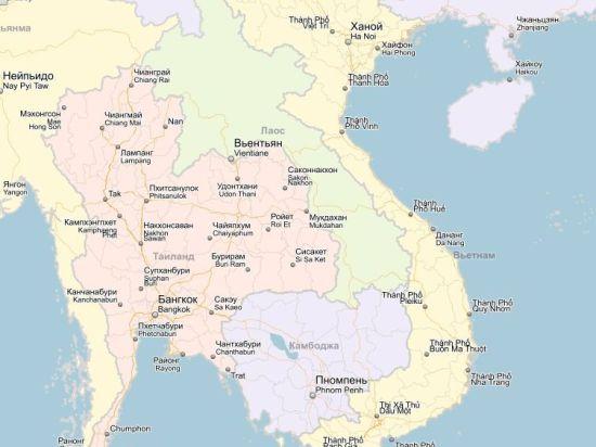В Лаосе рухнул самолет с военным руководством страны