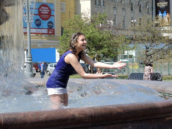 Северный циклон охладит аномально жаркую Москву