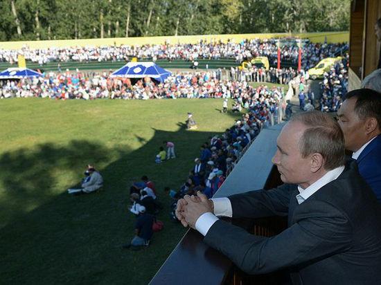 Путин увидел битву Льва с Исполином