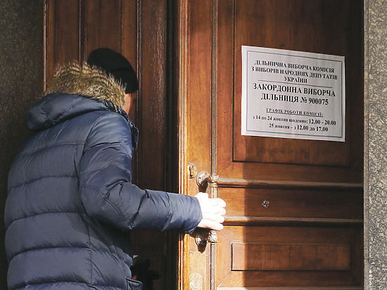Беженцы с Донбасса не голосуют