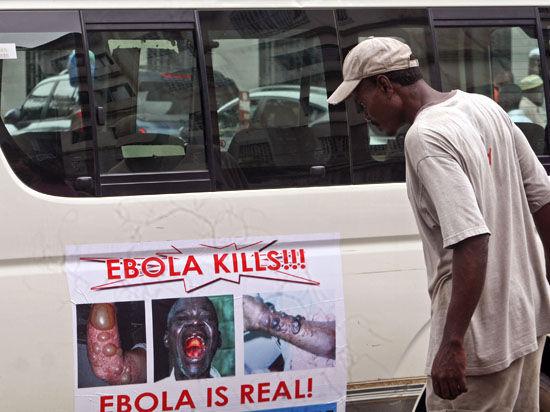 Смертельная лихорадка Эбола грозит 15 странам – в США доставлен еще один зараженный вирусом