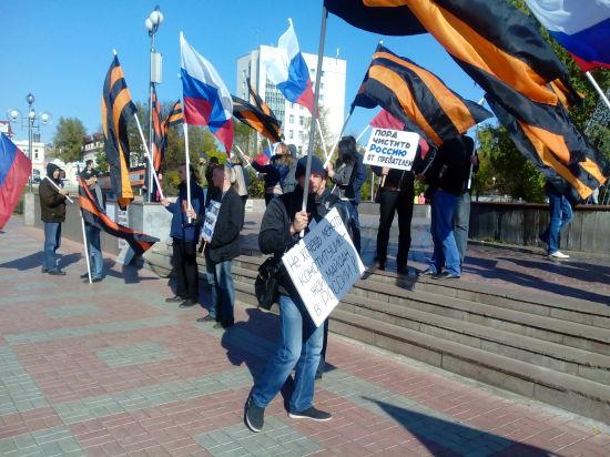 В Томске случилось «противостояние» двух Россий