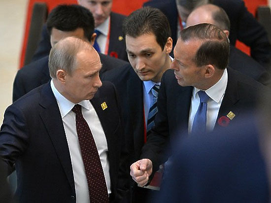 Жесткое высказывание Эбботта в адрес Путина признано в Австралии