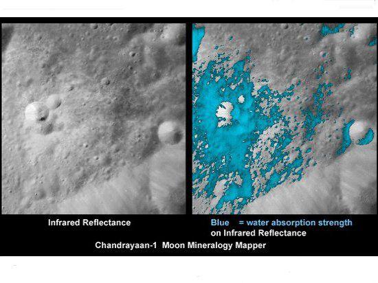 Исследователи убеждены, что вода на Луне есть