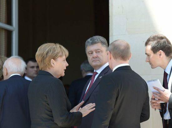 Телефонный разговор Путина и Порошенко о танках похвалили в Госдепе