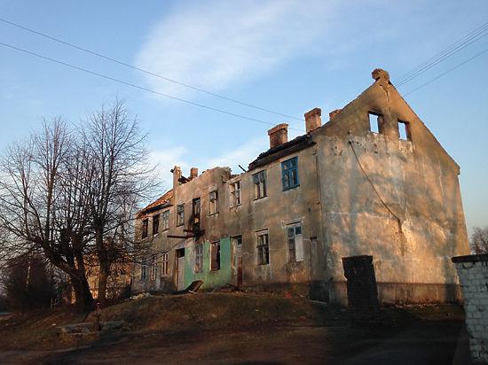 Бывший немецкий городок не пережил российских методов хозяйствования