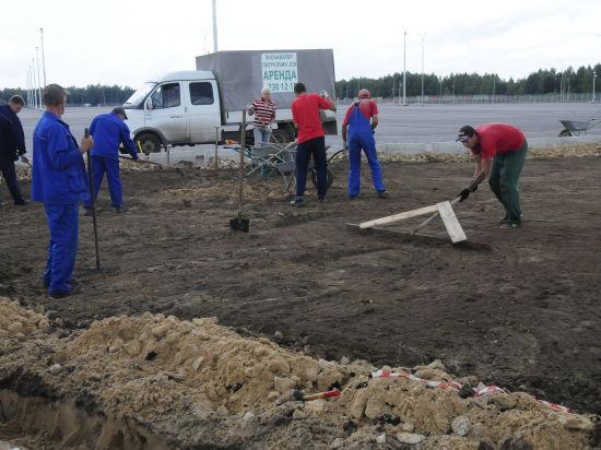 Горьковская железная дорога завершила строительство грузового двора терминально-логистического комплекса