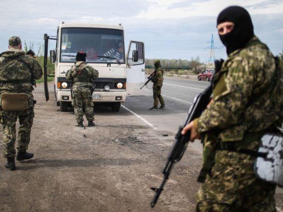 Украинская Нацгвардия штурмует Краматорск, есть убитые и раненые