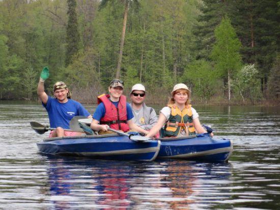 Байдарочные походы по рекам Владимирской области – весьма популярны