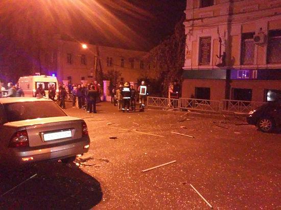 Взрыв в харьковском баре «Стена» объявлен терактом