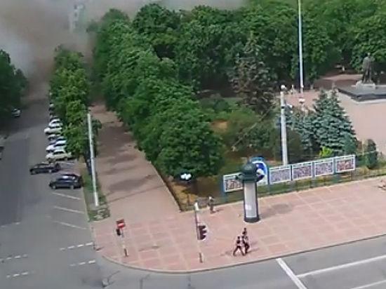Кабинет губернатора ЛНР Болотова не пострадал при авиаударах ВВС Украины по администрации