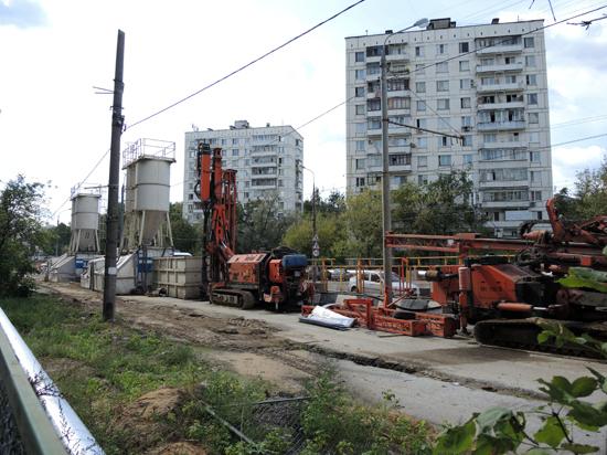 Строительство участка Северо-Западной хорды продлится еще два года