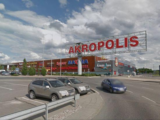 В Вильнюсе обрушилась крыша ТЦ