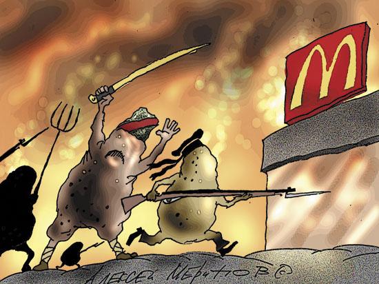 McDonald's закрыли за размер кухонь, который не менялся много лет
