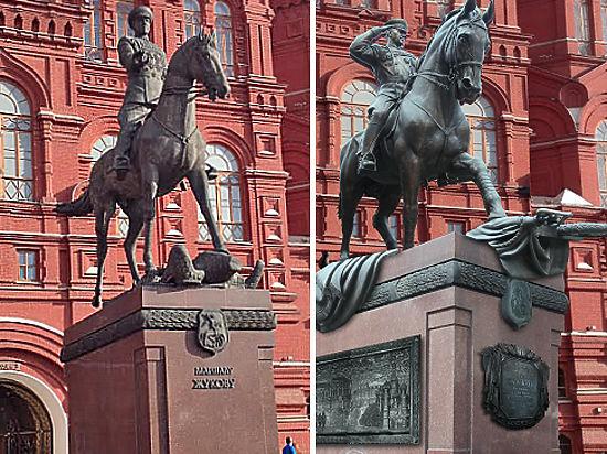 Судьба памятника маршалу Жукову на Манежной площади решится сегодня