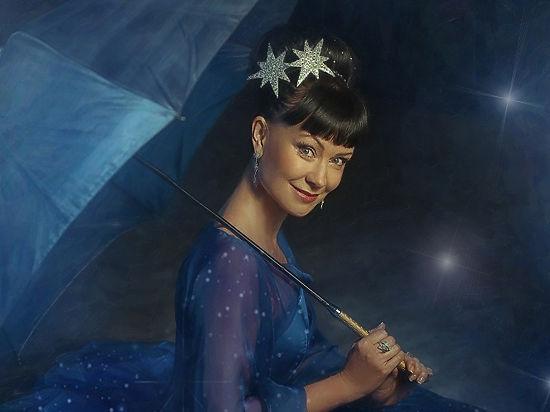 Нонна Гришаева выступила в роли волшебницы