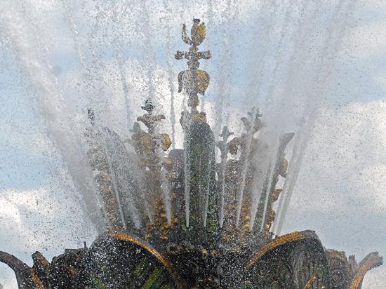 Дожди оставили горожан  без фонтанов