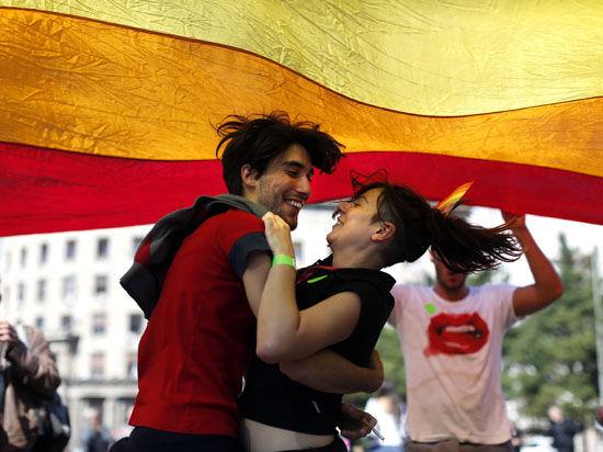 В Белграде прошел гей-парад
