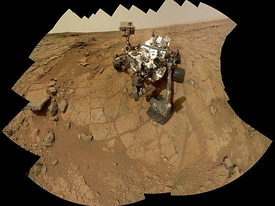 Марсоход Curiosity подтвердил версию российского ученого: на Красной планете есть метан!