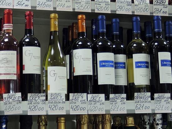 В Кремле подготовились к введению санкций на алкоголь