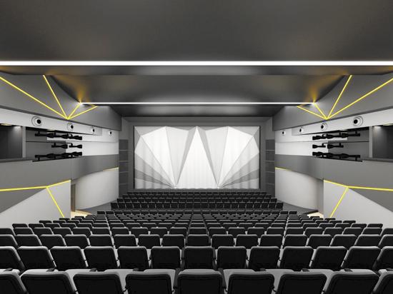 Сцена в театре станет наезжать на зрителей