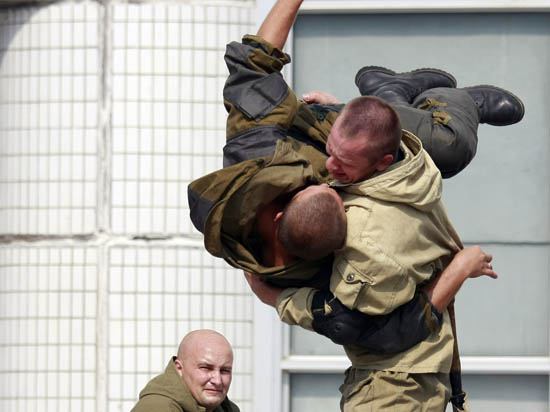 Десантники из России и Белоруссии уничтожат базы условного противника