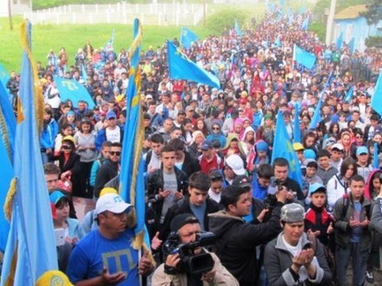 Крымские татары приняли условия власти Крыма