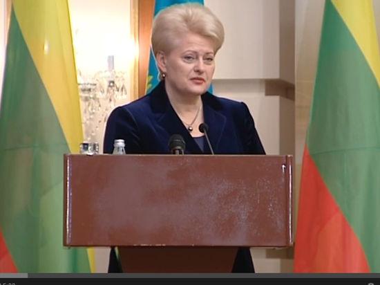 Президент Литвы: Путин действует как Сталин или Гитлер