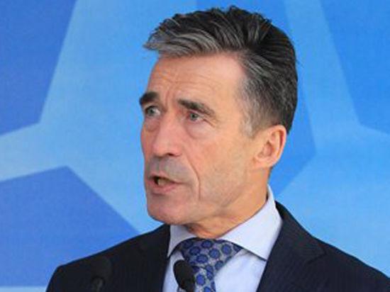 Генсек НАТО Расмуссен обвинил Россию в атаке Украины и прокомментировал «план Путина»