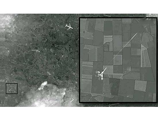 Спутниковый снимок истребителя, сопровождавшего «Боинг», подтверждает версию «МК»
