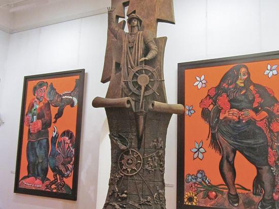 Церетели изваяет каравеллу Колумба в натуральную величину