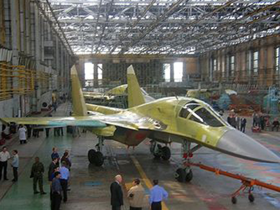 Новосибирский авиастроительный завод им.В.П.Чкалова расширяет производство фронтовых истребителей-бомбардировщиков Су-34
