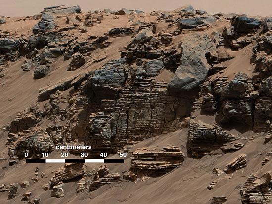 Жизнь на Марсе могла существовать сотни миллионов лет