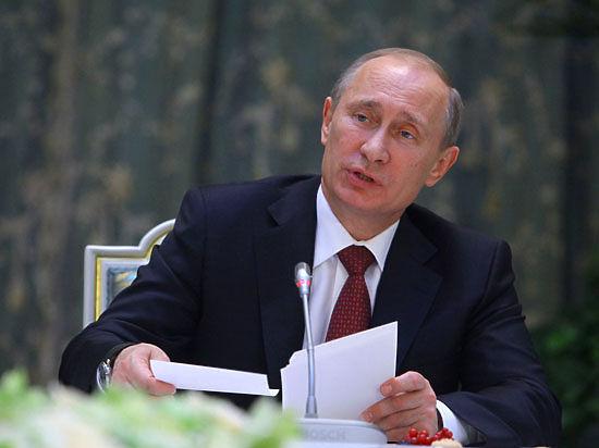 Владимир Путин утвердил дефицитный бюджет на 2015 год