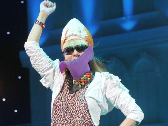 Самая эпатажная рок-певица России даст концерт в ближайшую субботу