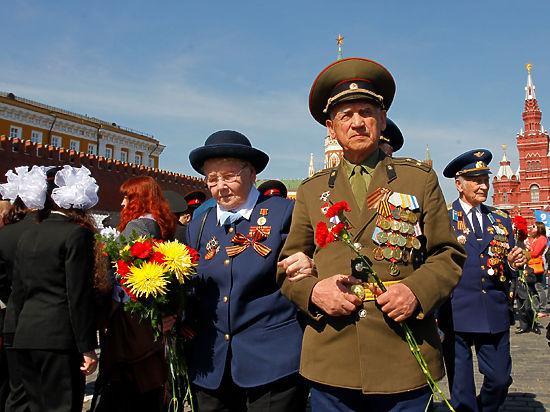 Парад Победы хотят транслировать для ветеранов в центре Москвы