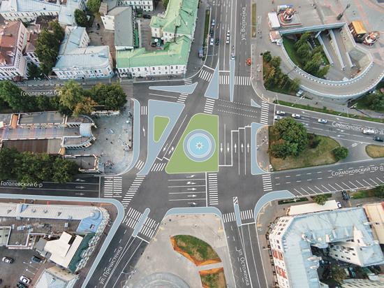 У метро «Кропоткинская» вместо пробок будет фонтан