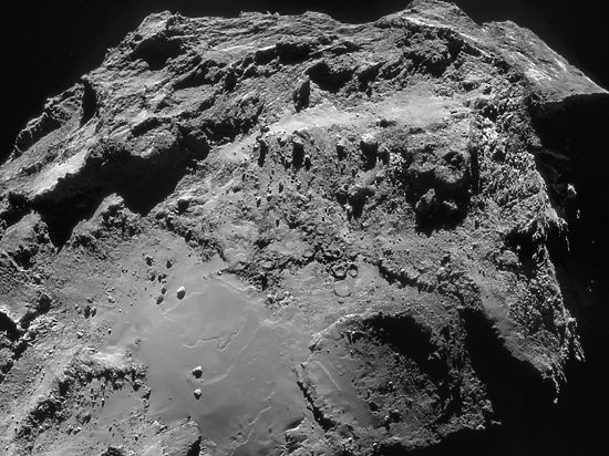 На комете нашли «яйца динозавров»