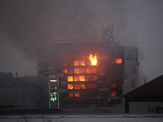 Столицу Чечни атаковал отряд боевиков, идет спецоперация