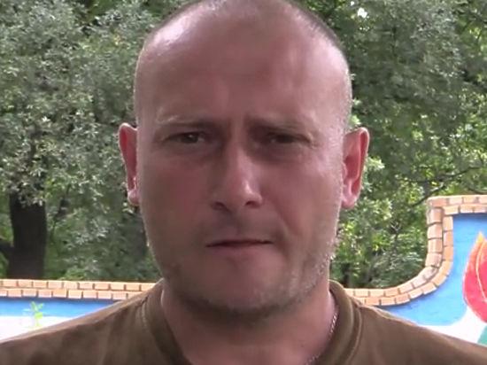 Ярош ранен в «мягкие ткани»: Дмитра «замазали зеленкой»