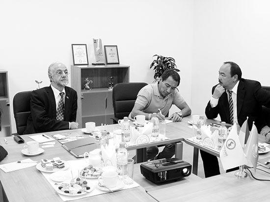 26 сентября состоялась встреча с президентом ассоциации France-Asia Жан-Мари Камбасересом в Каспийском университете.