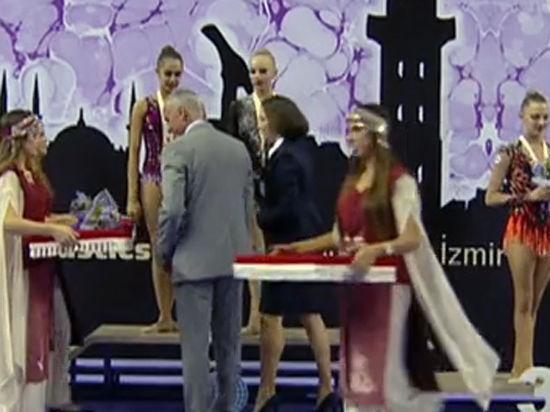 Чемпионат мира по художественной гимнастике: спортсменки из России Кудрявцева и Мамун завоевали «золото» и «серебро»