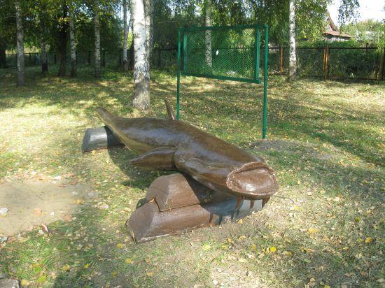 В Воротынском районе появился необычный арт-объект