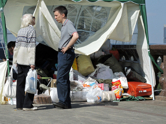 Командир блокпоста у Донецка — о гуманитарной помощи: «Очень нужны медикаменты, еда»